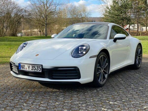 Porsche 911 Gutschein Instruktorfahrt