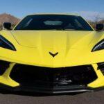 yellowhummer corvette c8 yellow 2