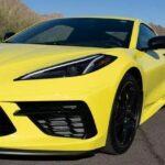 yellowhummer corvette c8 yellow 5