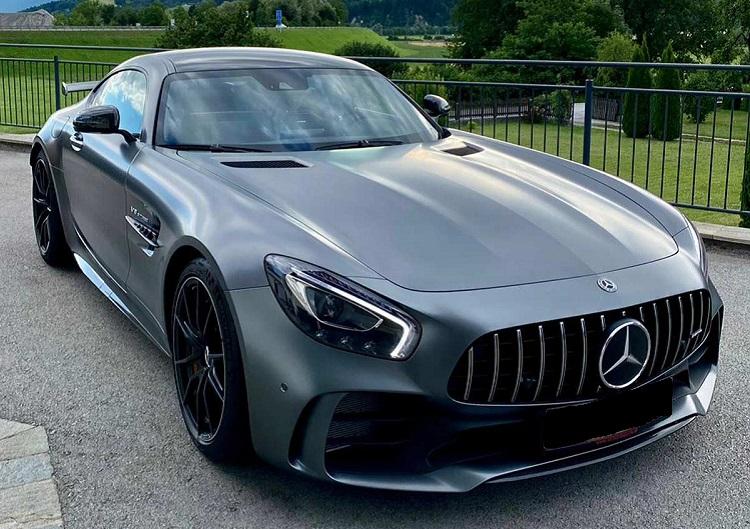 Rent a Mercedes AMG GT R in Innsbruck