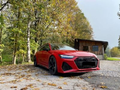 Rent an Audi RS6 in Innsbruck