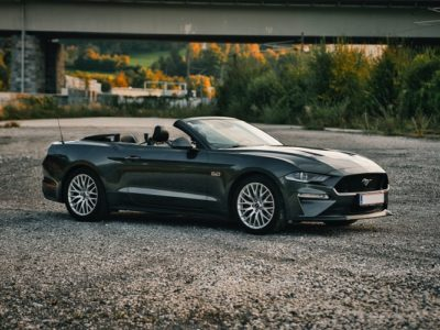 Rent a Ford Mustang Convertible in Salzburg