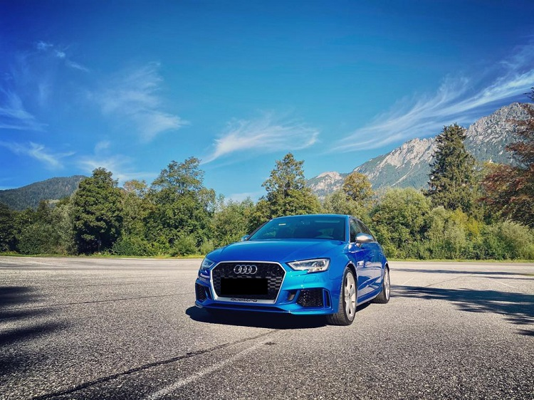 Rent an Audi RS3 in Innsbruck